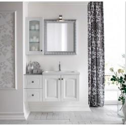Mobile bagno bianco in frassino