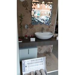 Mobile bagno top rovere 12 cm